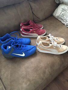 Puma et Nike