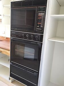 Westinghouse double oven and microwave Darling Point Eastern Suburbs Preview