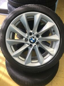 BMW mags with Pirelli Runflat winter 225/45R18 $$