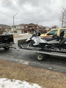Sled and trailer