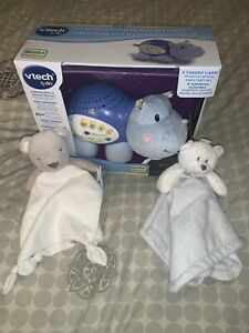 Vetch Baby Soothing Starlings Hippo & 2 Free Plushes
