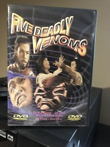 FIVE DEADLY VENOMS DVD
