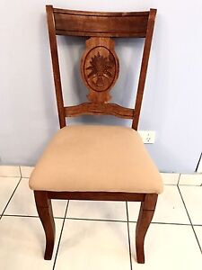 Padded Wooden chair Nightcliff Darwin City Preview