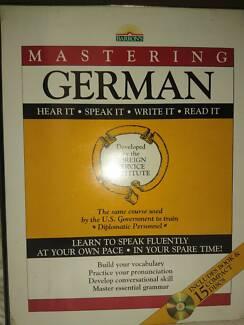 Barron's German language course