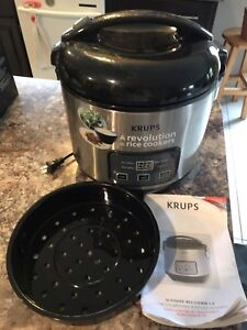 KRUPS automatic rice cooker and slow cooker
