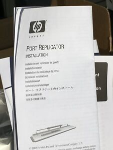 HP docking station with A/C adapter-brand new
