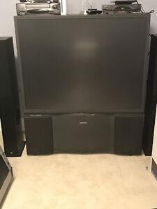 Toshiba TheaterView Rear Projection T.V.