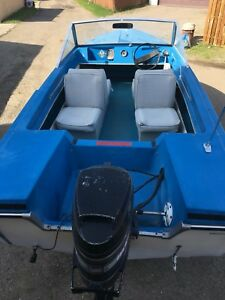 Ready To Have Fun With. 14' Vanguard Boat 90 HP Motor n Trailer.
