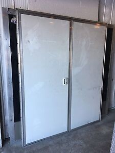 Cargo utility enclosed trailer doors surplus