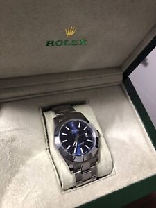 Rolex datejust 41mm blue dial