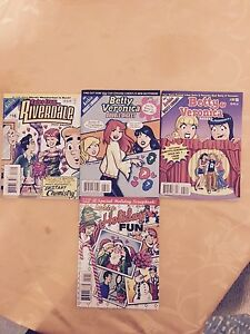 Archie comics 4 Unused