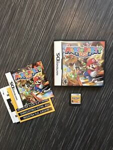 Nintendo DS - Mario Party complete manual inserts 3ds 2ds lite