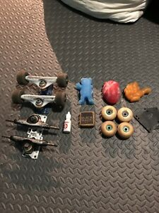 Skateboard trucks wheels wax and more!