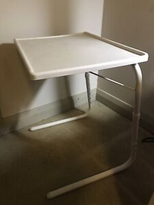 Small side table/ folding and adjustable