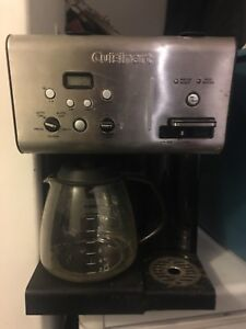 Cuiseinart stainless coffee maker