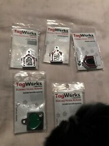 Brand new dog & cat dog tags obo