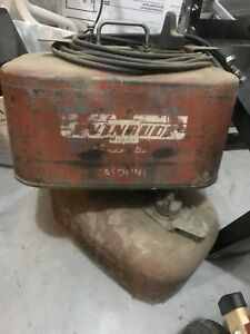 Antique steel gas cans for boats