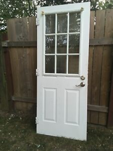 32 by 80 Steel Door!!