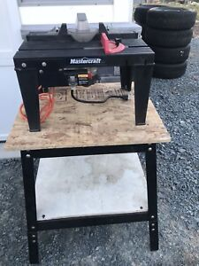 Mastercraft Router Table and Rotor on Bench