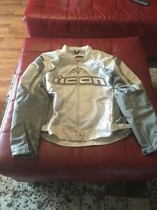 Icon Contra performance series motorcycle jacket