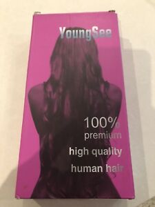 New 100% Human Hair Blonde Extension