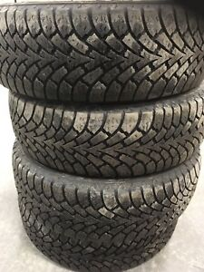 225/60R17 winter 4 tires