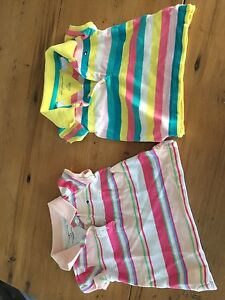 Tommy Hilfiger girls polo - size 3-6 months