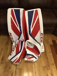 Kit Ccm goalie gardien de but canadien