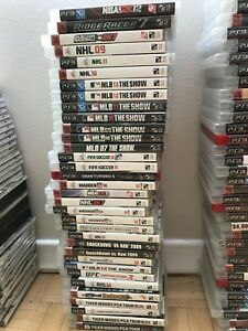 34 PS3 Sports Games for Sale