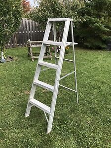 20ft and 5ft ladder