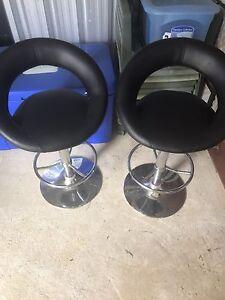 Black breakfast stools Heathridge Joondalup Area Preview