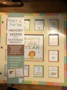 Baby's first year memory keeper