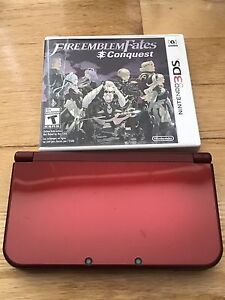 New Nintendo 3ds XL with 4 games