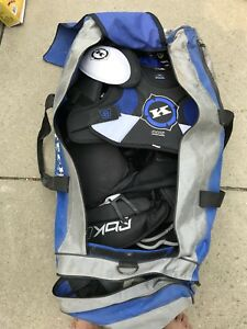 Adult hockey equipment