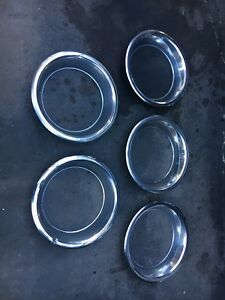Oldsmobile 15 inch factory trim rings Rare find!