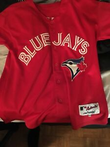 Josh Donaldson red blue jays jersey