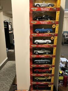 1/18 scale die cast metal cars collection