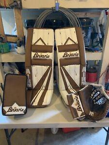 Brian's Heritage goalie setup
