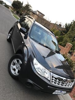 Subaru Forester 2011 with 5 moths rego full service  low ks new tyres