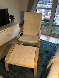 IKEA poang chair and ottoman $75 or best offer