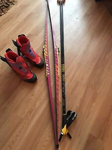 Men's skate ski package
