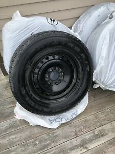 275/65/18 Winter Truck Tire and Steel Rims
