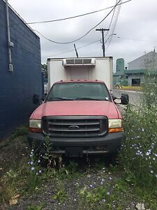 1999 Ford F450 reefer