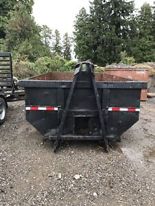 Hook lift / cable lift 14 yard bin