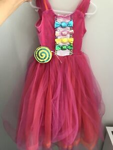 Halloween costume Candy Girl size 3