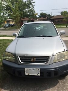 ONLY $1500- YR 2000 HONDA CRV FOR SALE 10/10 CONDITION