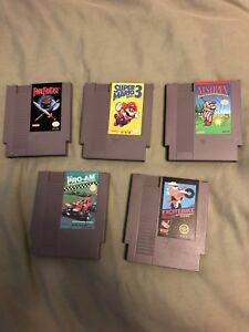 NES games for sale. Sold separate or a bundle