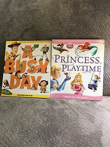 Disney Discover and Play Books