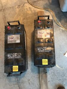Interstate heavy duty 12 volt group 4d batteries