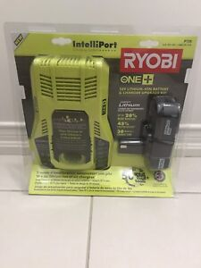 Ryobi 18V Charger and Battery (P128)